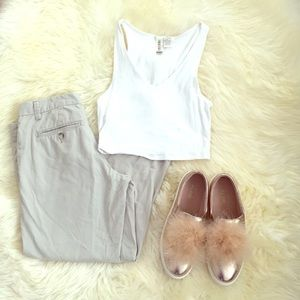 Gap Mid Rise Khaki crop pants in 3 colors